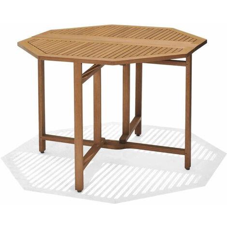 Table à Manger de Jardin Chillvert Milán Bois 190x74,5 cm Octogonale 4 Personnes