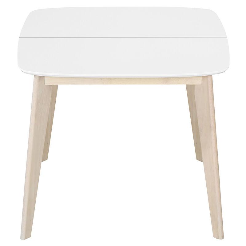 bois L90 blanche manger carrée Table 130 LEENA extensible scandinave et à UVqpGMjLSz