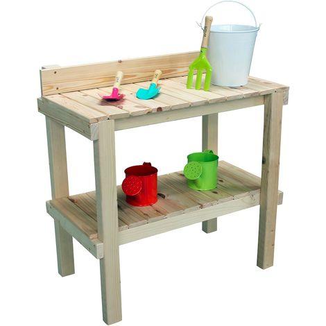 Table à rempoter en bois pour enfant - Reglisse