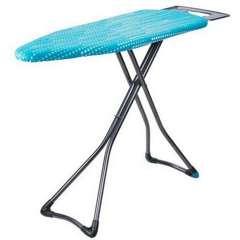 table à repasser 122x43cm bleu - hh40709105m - minky