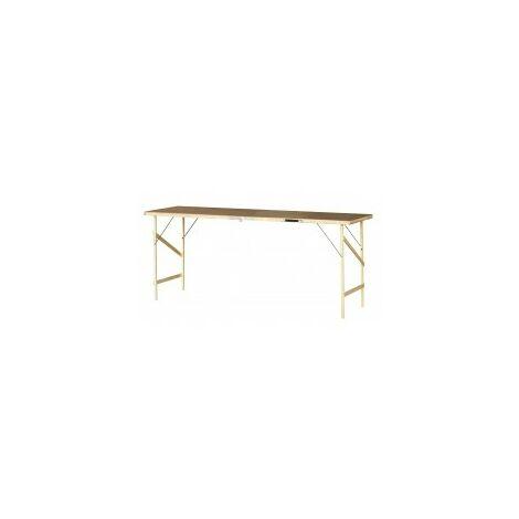 Table A Tapisser Pieds Bois