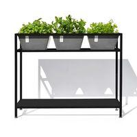 Table acier 3 bacs pour plantes aromatiques, Berlin