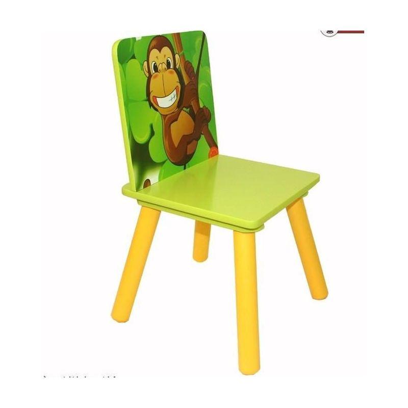 HomeStoreDirect Ensemble table et chaises pour enfant Th/ème jungle