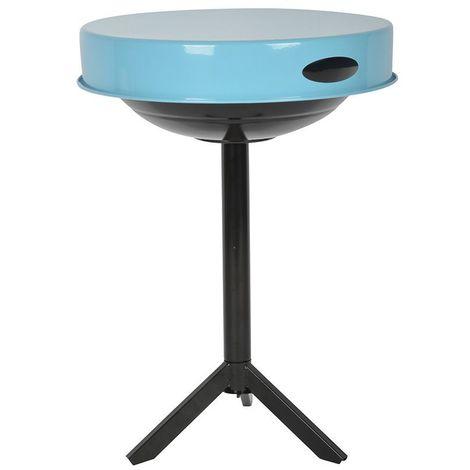 Table barbecue avec plateau amovible Plateau bleu - Plateau bleu