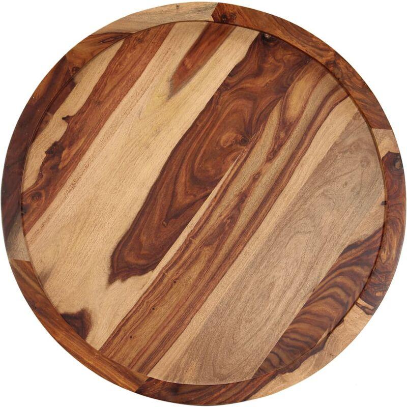 Table En Béton Ciré Et Bois table basse 80x35 cm bois massif de sesham