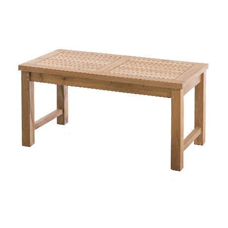 Table basse de jardin en teck - 1301675