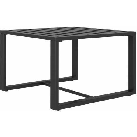 Table basse Aluminium Anthracite