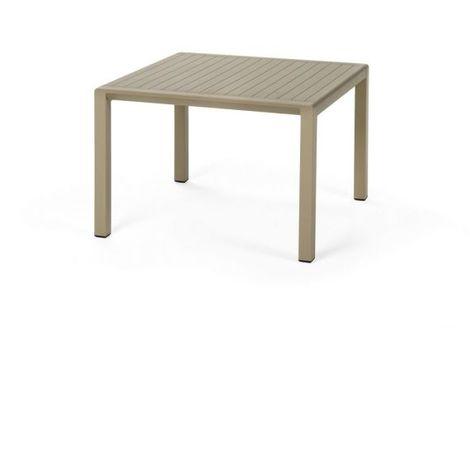 Table basse Aria 60x60 par Nardi - Patins antidérapants