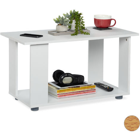 Table Basse Avec Support Table D Appoint Carree Meuble Tv