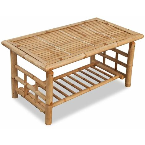 Table basse Bambou 90 x 50 x 45 cm