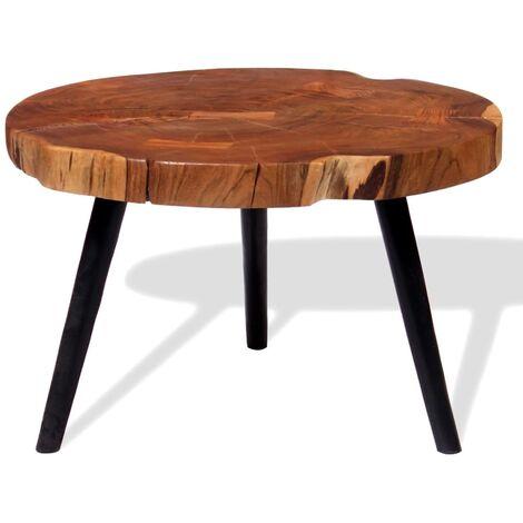 243957 Table Bois 60x massif55 cm d'acacia basse 40 oBedxrC