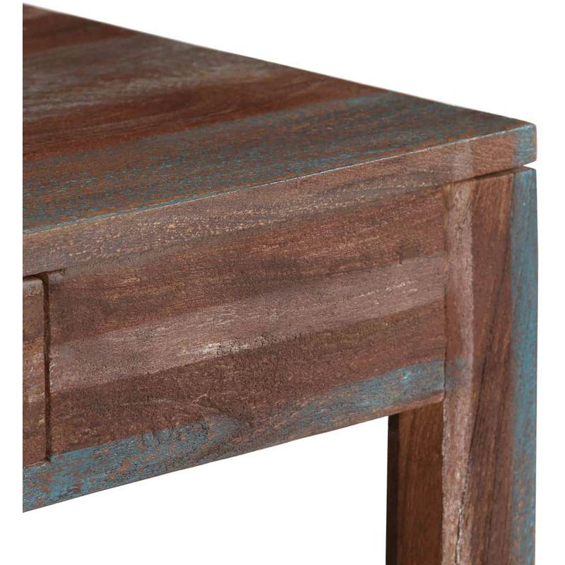 Bois Table Massif Vintage Basses X 88 Basse Meublestablesconsolestables 50 38 CmBrun XZTOPiku
