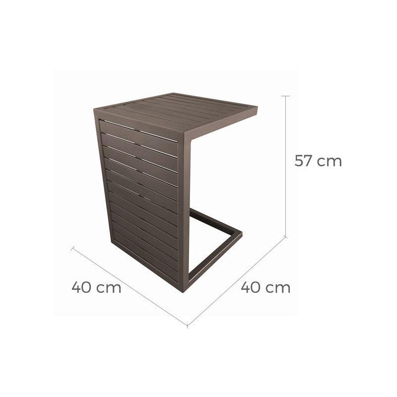Café Table Basse En Lou Aluminium 35A4LjR