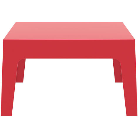 Table basse de jardin design rouge LALI - 25117