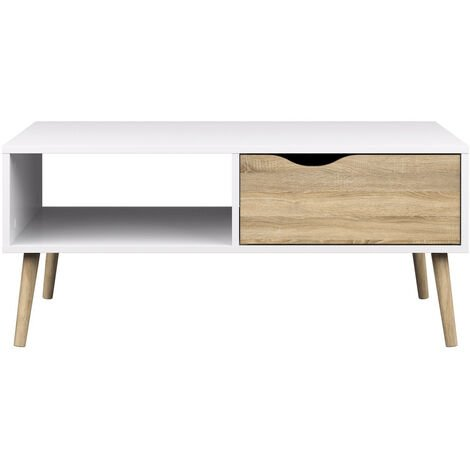TABLE BASSE DELTA 60,10 CM X 98,60 CM X 43,30 CM