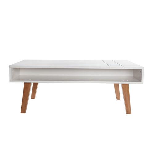 Basse Bois Laqué 32089 Design Blanc Adorna Table Mat Et WBrdxoQCe