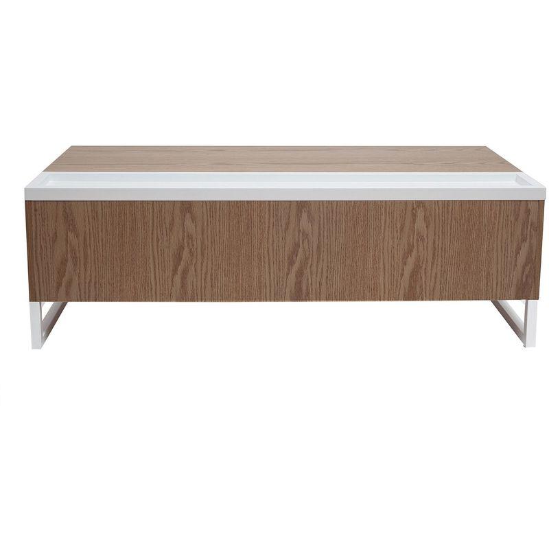 Rangement Blanc Avec Et Urban Table Bois Design Relevable Basse xBCoQedErW