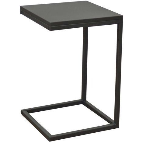 Table Basse En Acier Violette 35 Cm