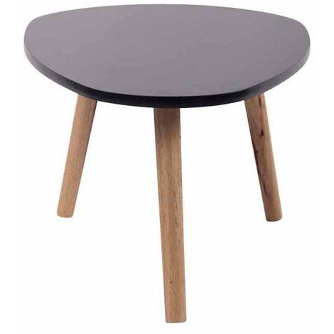 Table Thé Table d/'appoint Wine Table Acajou Couleur Bois Marron Foncé Noyer