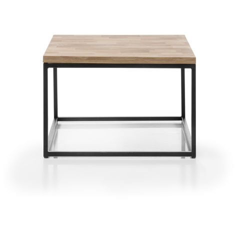 grande vente c4be3 7863d Table basse en chêne massif huilé - L70 x H45 x P70 cm -PEGANE-