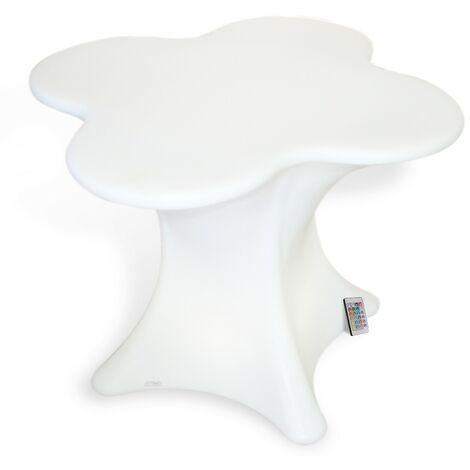 Table basse LED Rechargeable exterieur