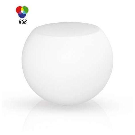 Table basse lumineuse RGB avec télécommande