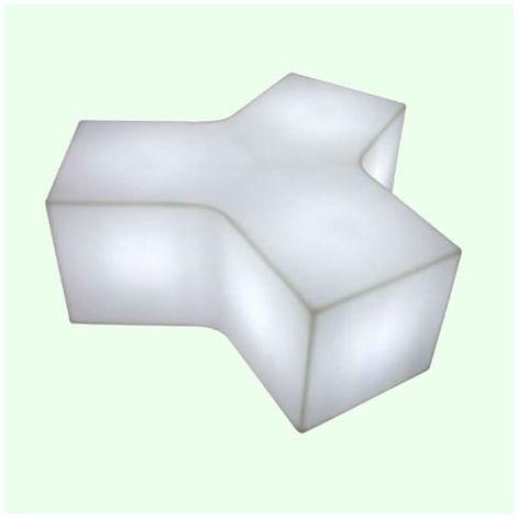 table basse lumineuse ypsilon ext rieure blanc slid. Black Bedroom Furniture Sets. Home Design Ideas