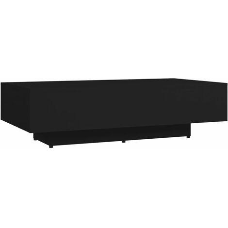 """main image of """"Table basse Noir 115x60x31 cm Aggloméré"""""""