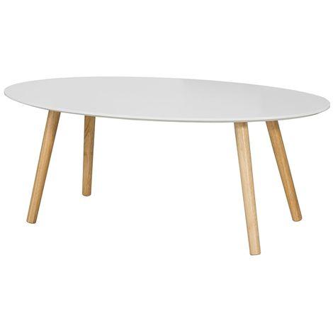 Ovale Design Moderne Salon Table D'appoint De En Basse BoeCxrd