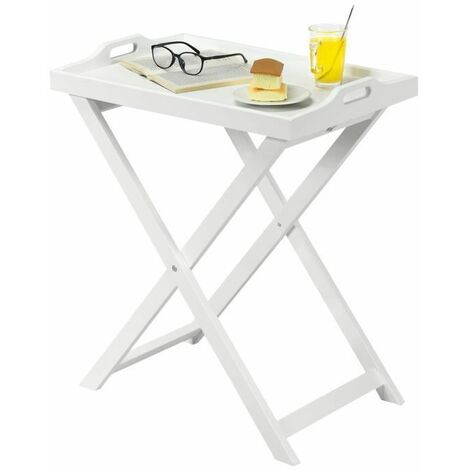 table basse pliable table d 39 appoint pliante style. Black Bedroom Furniture Sets. Home Design Ideas