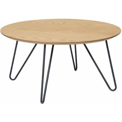 Table basse ronde Bonnie - Bois