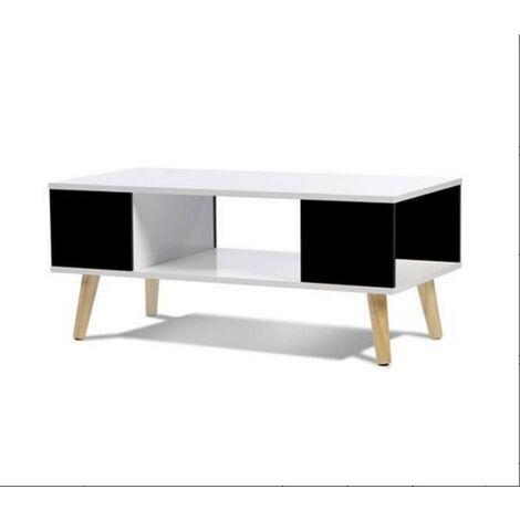 "main image of ""Table basse scandinave bois jaune"""