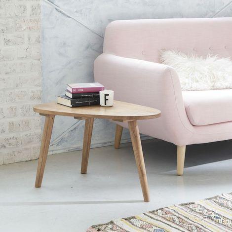 Table basse scandinave en bois de mindy 62 - Naturel