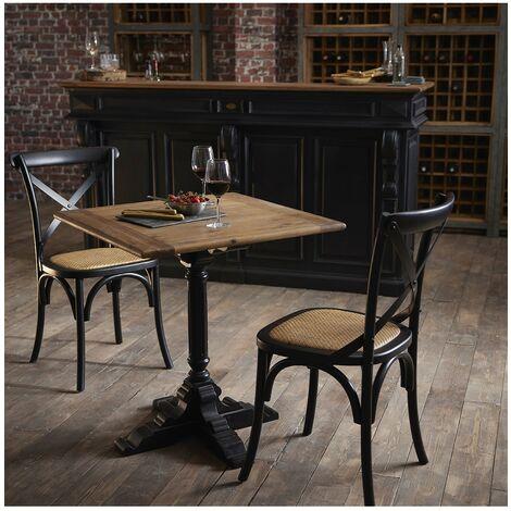 Table bistrot pied noir - De Kercoët
