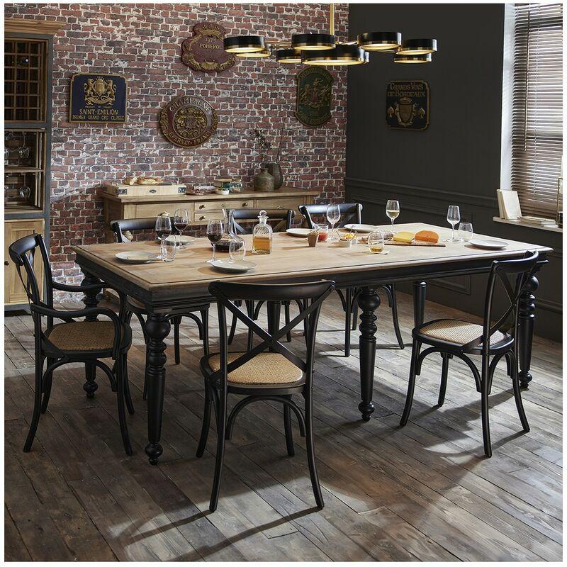 Table Buci acacia - De Kercoët