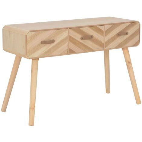 Table console 100 x 35 x 68 cm Bois massif