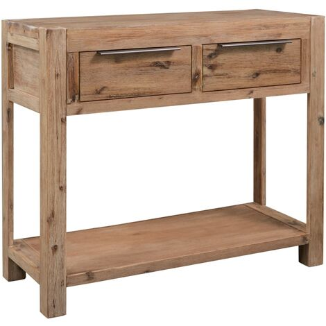 Table console 82x33x73 cm Bois d'acacia massif