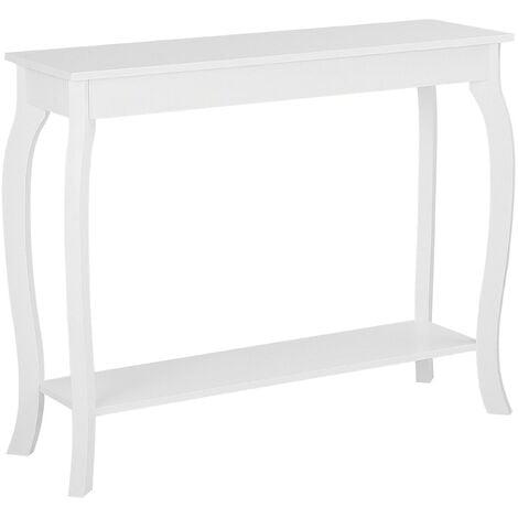 Table console blanche HARTFORD