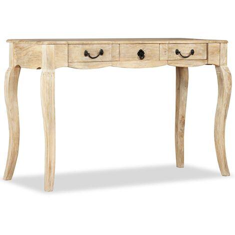 Table console Bois de manguier massif 120 x 50 x 80 cm