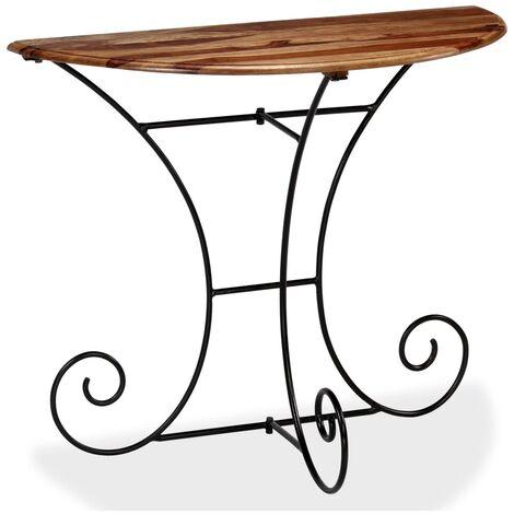 Table console Bois Demi-ronde 90 x 45 x 75 cm