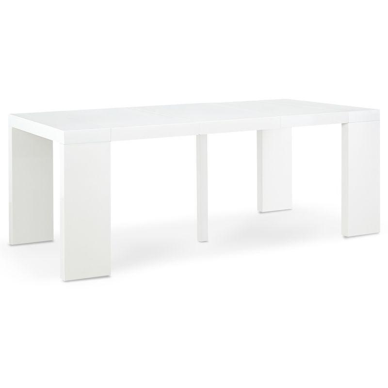 Oxalys Blanc Table Extensible Console Laquée Y6f7ybgv