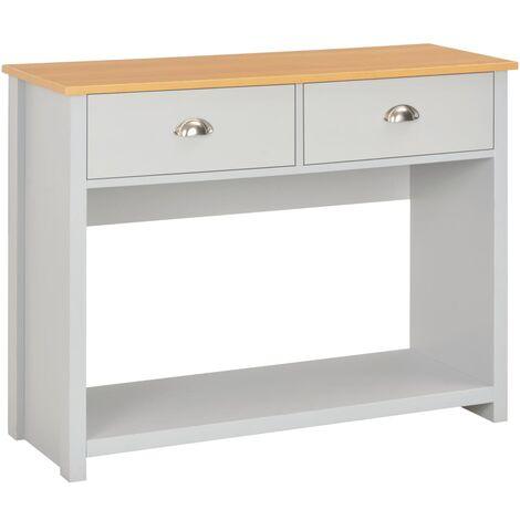Table console Gris 97 x 35 x 76 cm3516-A