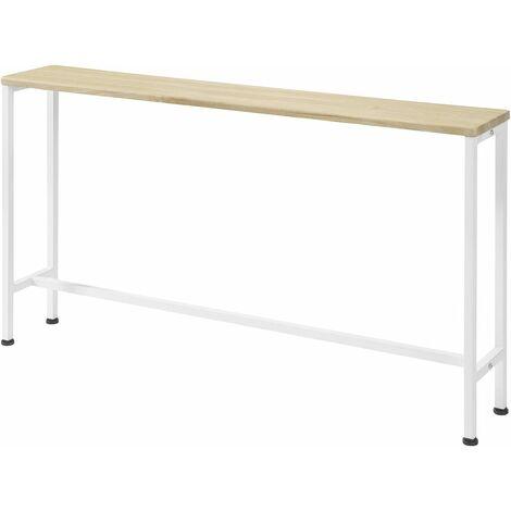 Table Console Table d'appoint Bout de canapé Table d'entrée Cadre et 4 Pieds en Fer,FSB19-N,SoBuy®