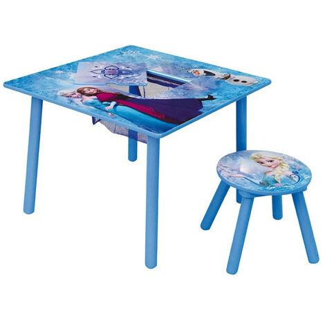 Table d'activité avec 1 tabouret Reine des Neiges 2 Disney Anna Elsa Olaf