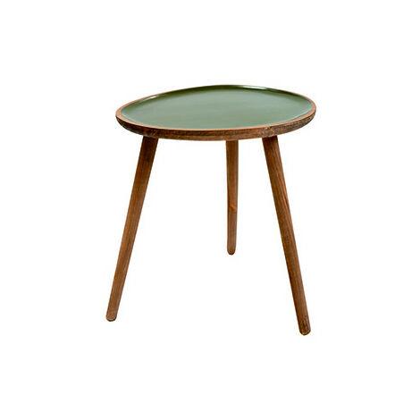 TABLE D'APPOINT BOIS L 37.5X32X41.5CM