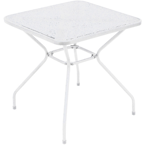70 cm Diam Gris ardoise mat Table d/'appoint de jardin Saona