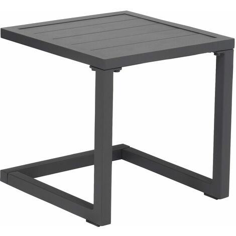 "main image of ""Table d'appoint en aluminium BARBADOS noir - Noir"""