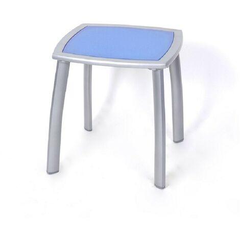 """main image of """"Table d'appoint extérieur métal Cuzco bleu - Bleu Argent"""""""