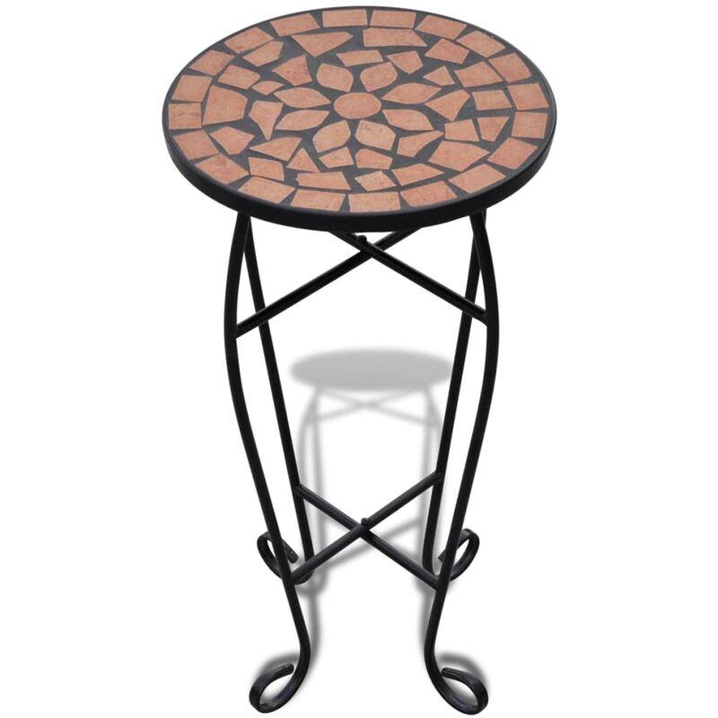 Vidaxl - Table d'appoint Mosaïque Terre cuite