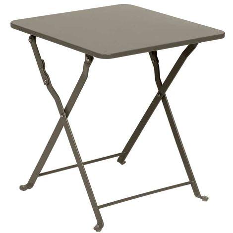 Taupe Hespéride 40 x Nindiri mat Table d'appoint 40 cm trQdCxhs